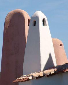 chimneys - Sardegna, Italy