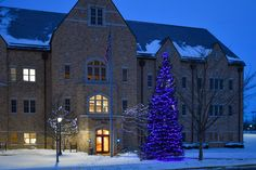 Hammes Mowbray Hall is decorated for Christmas
