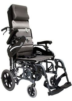 A reclining wheelchair allows several key parts of the device, including the foot rests and backrest, to be adjusted to accommodate various needs and positions. Reclining wheelchairs are high back wheelchairs that allow the user to recline from a 90 degree position down to 180 degree position. Reclining wheelchairs have handbrake-like controls that release the back and lock it into place. Reclining wheelchairs are equipped with removable full support headrests, swing away elevating leg rests