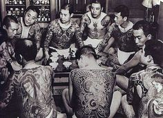 yakuza Irezumi, japanese tattoo