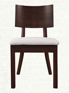 Museum Dining Side Chair With Upholstered Seat In Walnut Cherry