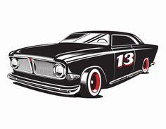 Lead Sled #car #illustration