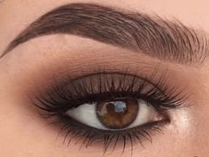 5 Ways To Make Brown Eyes Pop - <br> Brown eyes are totally stunning. These 5 unique makeup tricks using purple and blue eyeliners will make your brown eyes stand out. Dramatic Eye Makeup, Makeup Eye Looks, Unique Makeup, Dramatic Eyes, Blue Eye Makeup, Smokey Eye Makeup, Makeup For Brown Eyes, Eyeshadow Makeup, Brown Eyeshadow Looks