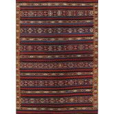 Found it at Wayfair - Kilim Purple Striped Rug