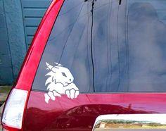 Dragon Decal for Laptop sticker for Car #098 by SewardStreetStudios on Etsy https://www.etsy.com/listing/161623614/dragon-decal-for-laptop-sticker-for-car