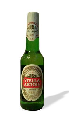 Stella Artois available in the bottle at Edwardo's.