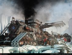 Steampunk tank.