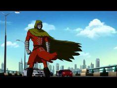 EXO, An African Superhero Animated Film & Graphic Novel