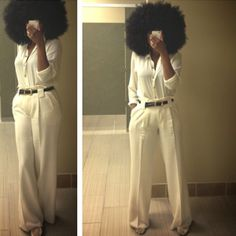 Checking the mirror to make sure your hair is right before leaving out tonight? If you're pressed for time and have natural hair, here's a few QUICK, EASY and healthy -->> Natural Hair Inspiration, Style Inspiration, Pelo Afro, Natural Hair Styles, Long Hair Styles, Afro Hairstyles, Black Hairstyles, Wedding Hairstyles, Afro Punk