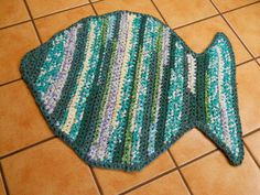 Fish Tutorial Rag Rugs by Erin Blog/Newsletter (9/22/16)