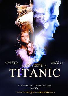 Titanic is back, I love this movie Titanic History, Rms Titanic, Titanic Movie Poster, Movie Posters, Movie Photo, Movie Tv, Leonardo And Kate, Titanic Quotes, Office Movie