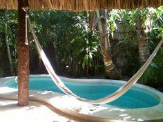private plunge pool & hammock
