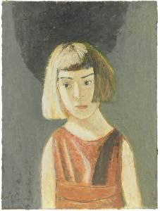 "Gennadii Gogoliuk (b.1960) ""Girl and anti world"""