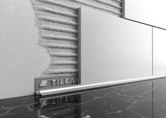 Magnificent 7 Best Tile Trim Images In 2016 Tile Trim Tiles Bathrooms Interior Design Ideas Gresisoteloinfo