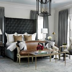 An equestrian heart would feel right at home in this beauty. - Architecture and Home Decor - Bedroom - Bathroom - Kitchen And Living Room Interior Design Decorating Ideas - Brown Bedroom Decor, Home Decor Bedroom, Bedroom Ideas, Warm Bedroom, Brown Decor, Bedroom Apartment, Bedroom Colors, Bedroom Furniture, Master Bedroom Design