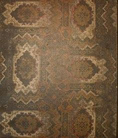 Re This oilcloth survives in the Upstairs Hall at Rouse Hill estate along the passage to Bedroom 7 beneath the carpet runner and as fragments beneath the linen press. Oilcloth, Museum Collection, Carpet Runner, Victorian, Rugs, Bedroom, Antiques, Image, Home Decor
