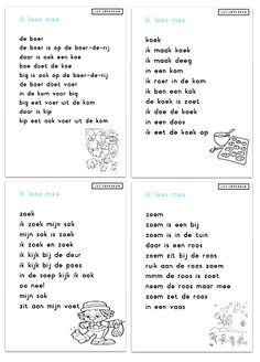 Juf Joycella | Veilig Leren Lezen Speech Language Therapy, Speech And Language, Learn Dutch, Starting School, Creative Teaching, Primary School, Kids Education, Reading Comprehension, Kids Learning