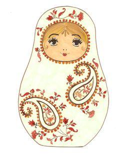 Motif : http://www.enluminure.com/contents/fr/d15_motif-provence.html  Modèle : http://www.hugolescargot.com/decoupages/decoupage-du-noel-russe.html