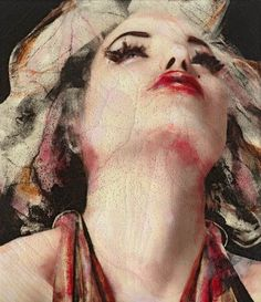 Marilyn by Spanish artist Lita Cabellut
