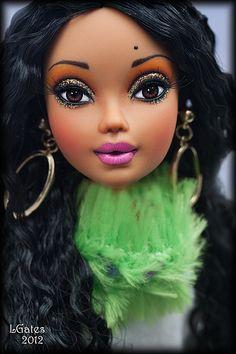 Helena OOAK Repaint doll By Lisa Gates - My Scene Barbie doll ------( Madison )