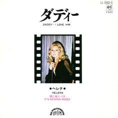 HELENA 50 LET NA SCÉNĚ | Singl pro japonskou firmu Columbia Records - písničky od Lese Reeda It`s Raining Roses Around the Corner a Daddy, I Love Him.