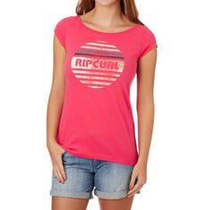 Rip Curl T-shirts - Rip Curl Big Mama Tee T-shirt - Paradise Pink