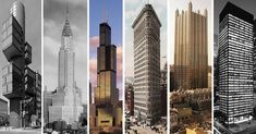 The Stories Behind 17 Skyscrapers & High-Rise Buildings That Changed Architecture,
