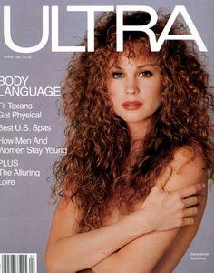 Rosie Vela  -  Ultra April 1987