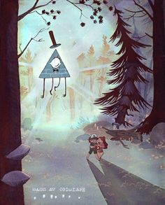 OP: I love all those secrets messages hidden everywhere (•v• ) | Gravity Falls