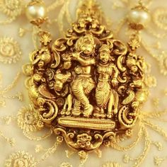 Gold Temple Jewellery, India Jewelry, Gold Jewelry Simple, Gold Locket, Gold Necklace, Pendant Jewelry, Antique Jewelry, Jewelery, Baba Image