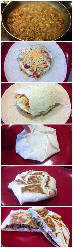 THESE WERE SO GOOD!! We had them two nights in a row!!! Keeper for sure!!! Homemade crunch wrap supreme! Way more healthy than Taco Bell..  ...