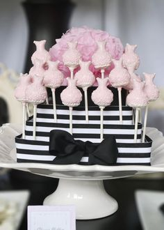 Glamour Party Dress Cakepop