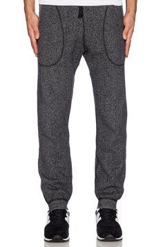 Reigning Champ // Sweatpant in Black/Natural