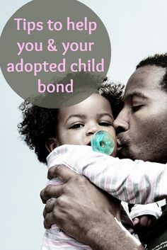 10 tips to help you and your adopted child bond as a family. Helpful!