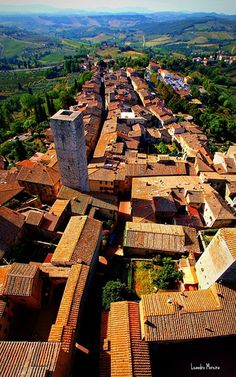 San Gimignano - Italy been there, but want to go back!