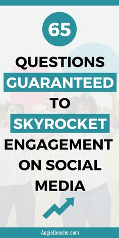 Asking questions on social media is a great way to engage your audience. Here are 65 social media questions you can ask to increase engagement. Facebook Marketing, Content Marketing, Online Marketing, Social Media Marketing, Business Marketing, Online Business, Facebook Business, Marketing Software, Digital Marketing