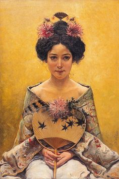 Pedro Saenz, Japanese girl.
