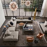 Living in an apartment, or in an older home with tiny rooms, can present a challenge: how to make your limited space seem larger. Try these 80 Stunning Modern Apartment Living Room Decor Ideas And Remodel. Living Room Sofa, Living Room Interior, Home Living Room, Apartment Living, Home Interior Design, Living Room Designs, Living Room Decor, Classic Interior, Living Room Zones