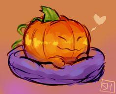 Pumpkin doggo