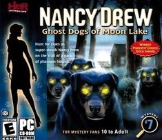 Nancy Drew Ghost Dogs Of Moon Lake PC Games Windows 10 8 7 XP Computer adventure