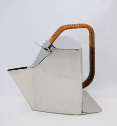 // Richard Sapper kettle for Alessi, 1980.