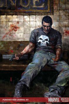 Punisher by Alex Maalev