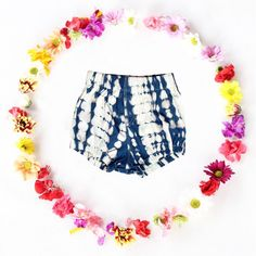 New!!! Soft hand dyed cotton shorts!
