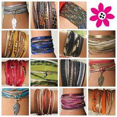 Pour cette saison, des bracelets haut en couleur !