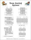 Team Seating Options and other cooperative learning freebies
