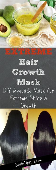 DIY Extreme Hair Growth Mask