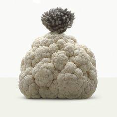 Cauliflower hat.