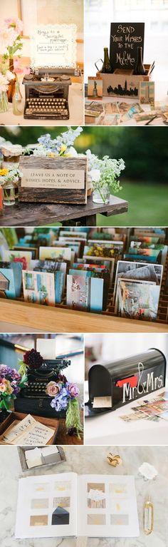 10 kreatív vendégkönyv esküvőre - Ötletek esküvőtervezéshez