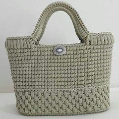 Free Crochet Bag, Crochet Tote, Crochet Handbags, Crochet Purses, Diy Crochet, Crotchet Bags, Knitted Bags, Bag Pattern Free, Tapestry Crochet