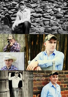 country boy senior pictures by Country Chic Photography
